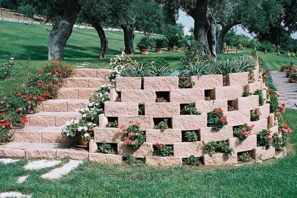 Muri Controterra Lecablock Manufatti In Cemento E Pavimentazioni